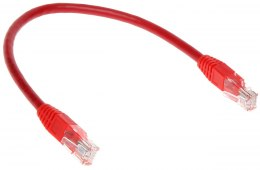 PATCHCORD RJ45/0.2-RED 0.2 m